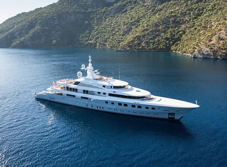 luxury superyacht for sale